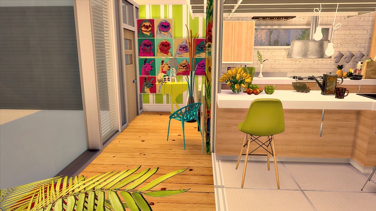 My Sims 4 Blog: Colorful Madness House By Simsberrylis