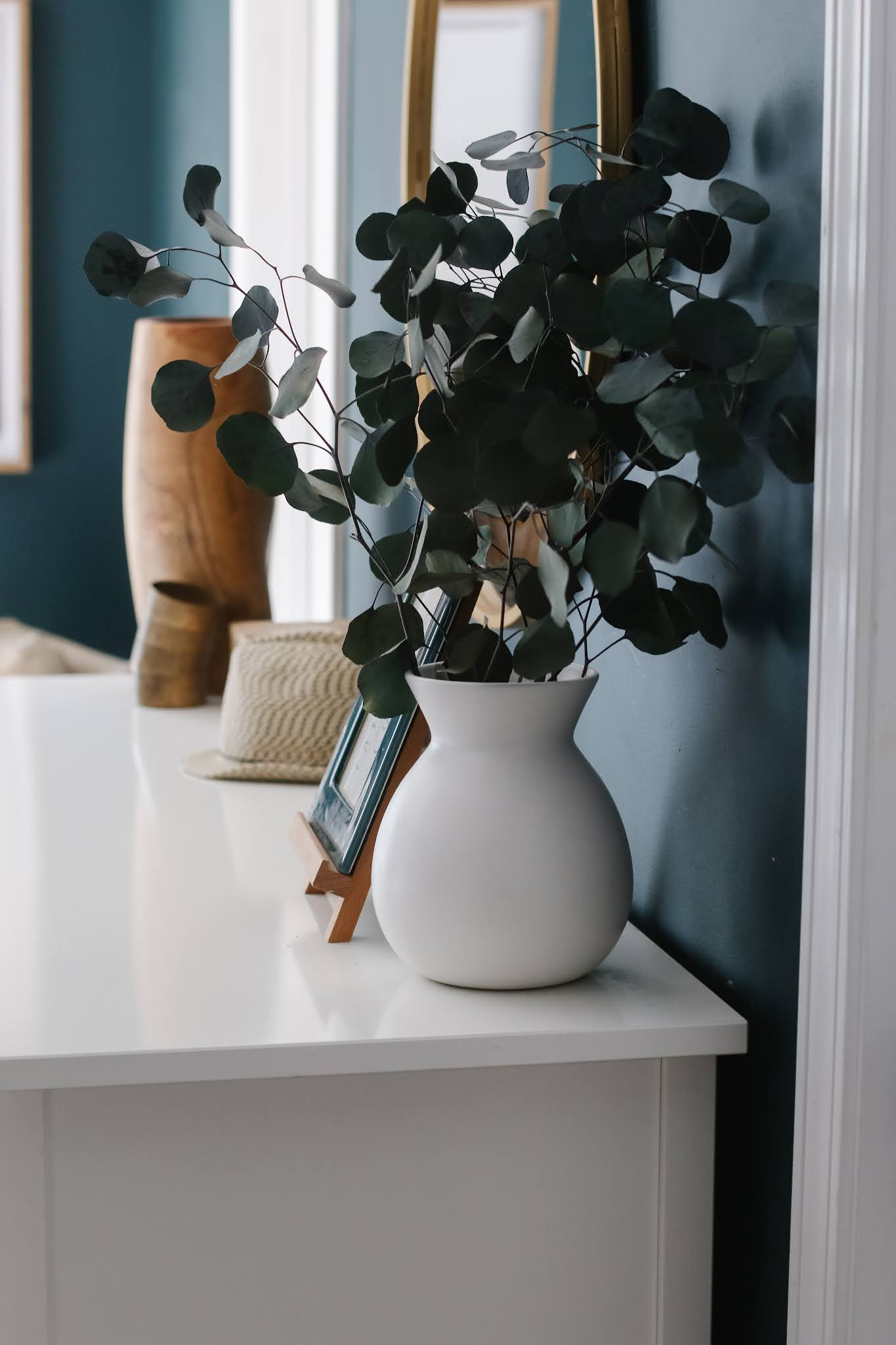 Sherwin Williams Cascades in a Bedroom