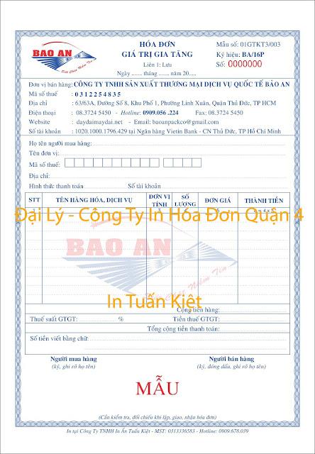 in hóa đơn quận 4