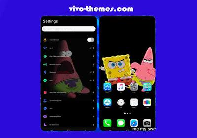 Spongebob IOS Theme For Vivo Android
