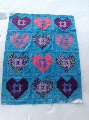 Hearts and Churns quilt pattern