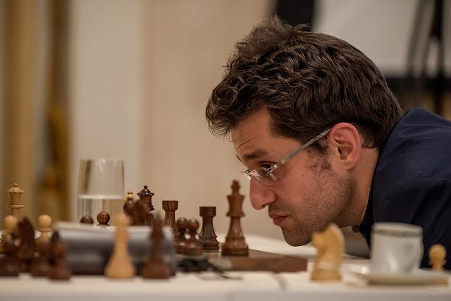 Aronian cayó derrotado en 19 jugadas contra Anand (Foto: David Llada)
