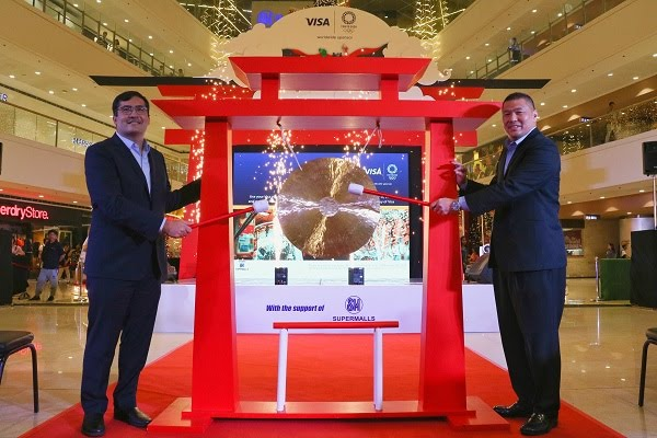 Visa Launches Olympic Games Tokyo 2020 Campaign in the Philippines