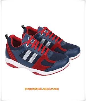 Sepatu Sport Pria Sporty Warna Biru