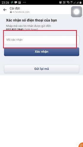 Cách lấy lại mật khẩu facebook khi bị quên trên điện thoại