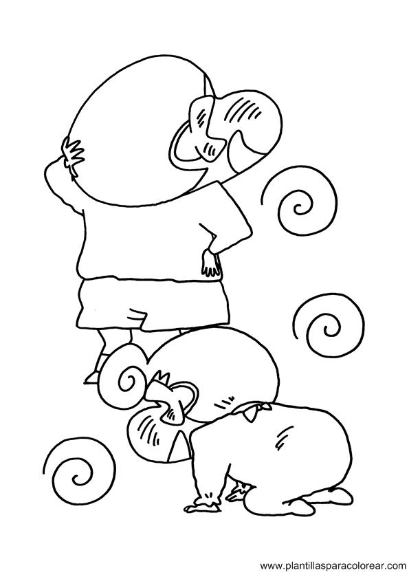 Shin Chan para dibujar colorear imprimir recortar y pegar
