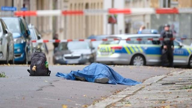 Lövöldözés volt a németországi Halléban, ketten meghaltak