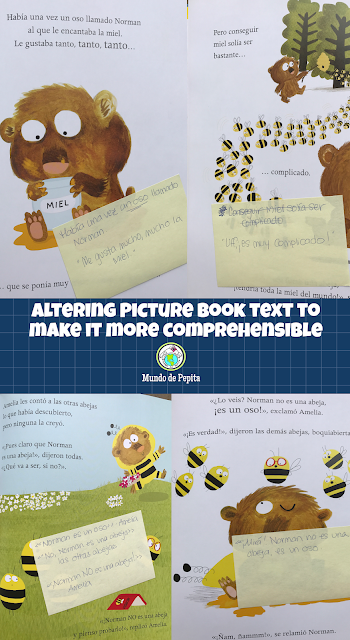 Altering Picture Book Text to Make it more Comprehensible for Foreign Language Class