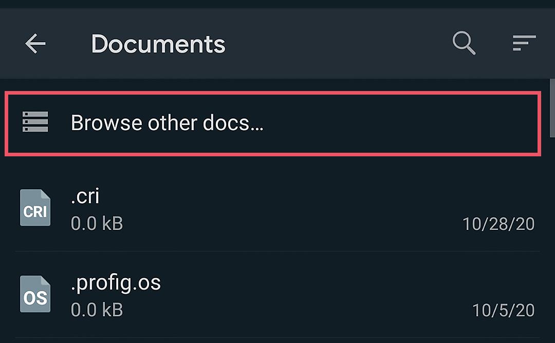 Kirim Sebagai Dokumen - Cara Mengirim Gambar dan Video di WhatsApp Tanpa Mengurangi Kualitas