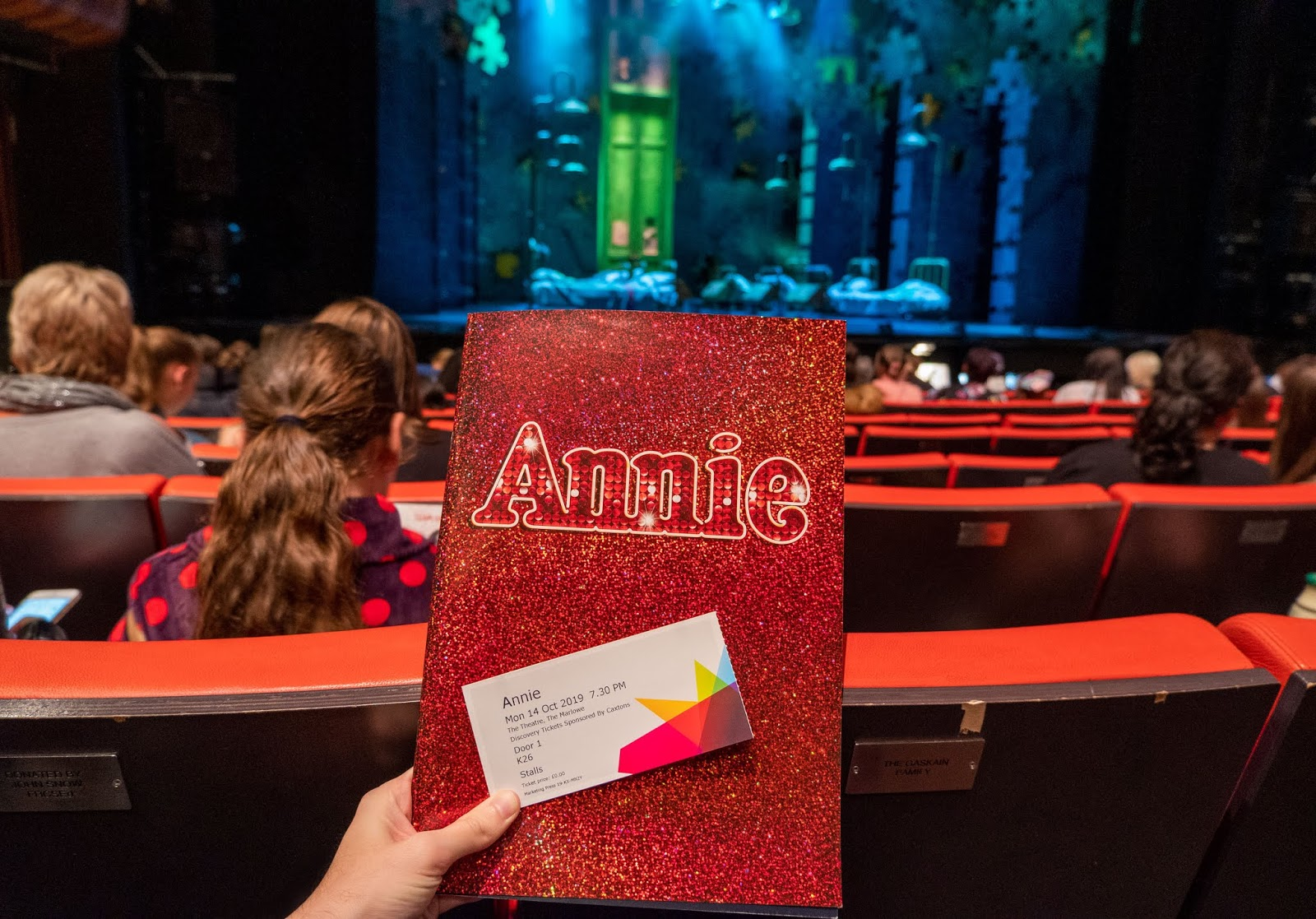 The UK tour of Annie the Musical at The Marlowe Theatre, Canterbury