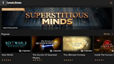 original programs from curiosity streams vod