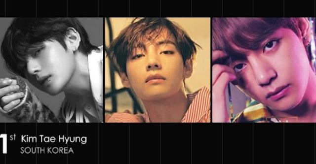 BTS V  Berbakat Menjadi Model Yang Luar Biasa