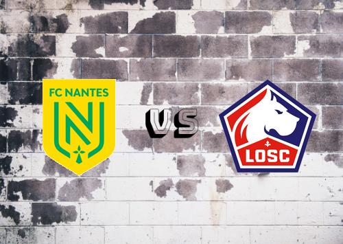 Nantes vs Lille  Resumen