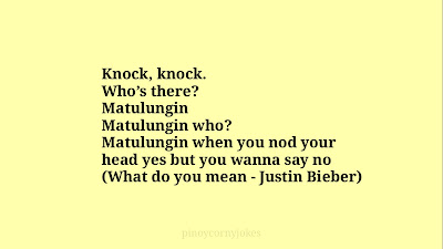 matulungin tagalog knock knock jokes