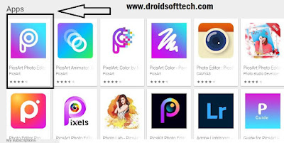Search Picsart On PC Download
