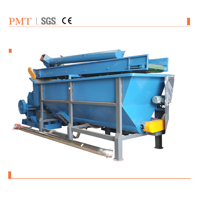 Plastic recycle production line 1:  water friction machine
