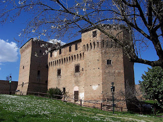The Rocca Malatestiana in Cesena, once a prison, now houses a museum of agriculture