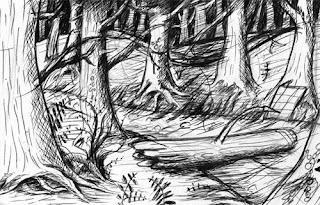 croquis-décor-forêt