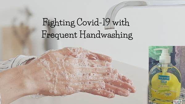 Fighting Covid-19 with Frequent Handwashing