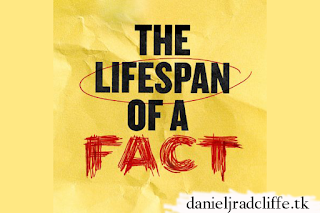 Daniel Radcliffe to return to Broadway in The Lifespan of a Fact this September