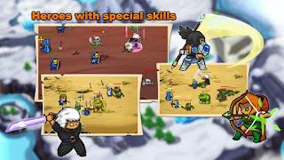 Castle Defense: Grow Army Apk v1.3 Mod
