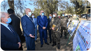 قيس سعيد يأمر الجيش الوطني بانجاز مشروع قطار سریع يربط أقصى الشمال بأقصى الجنوب