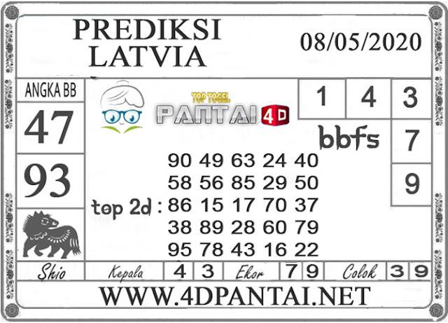 PREDIKSI TOGEL LATVIA PANTAI4D 08 MEI 2020