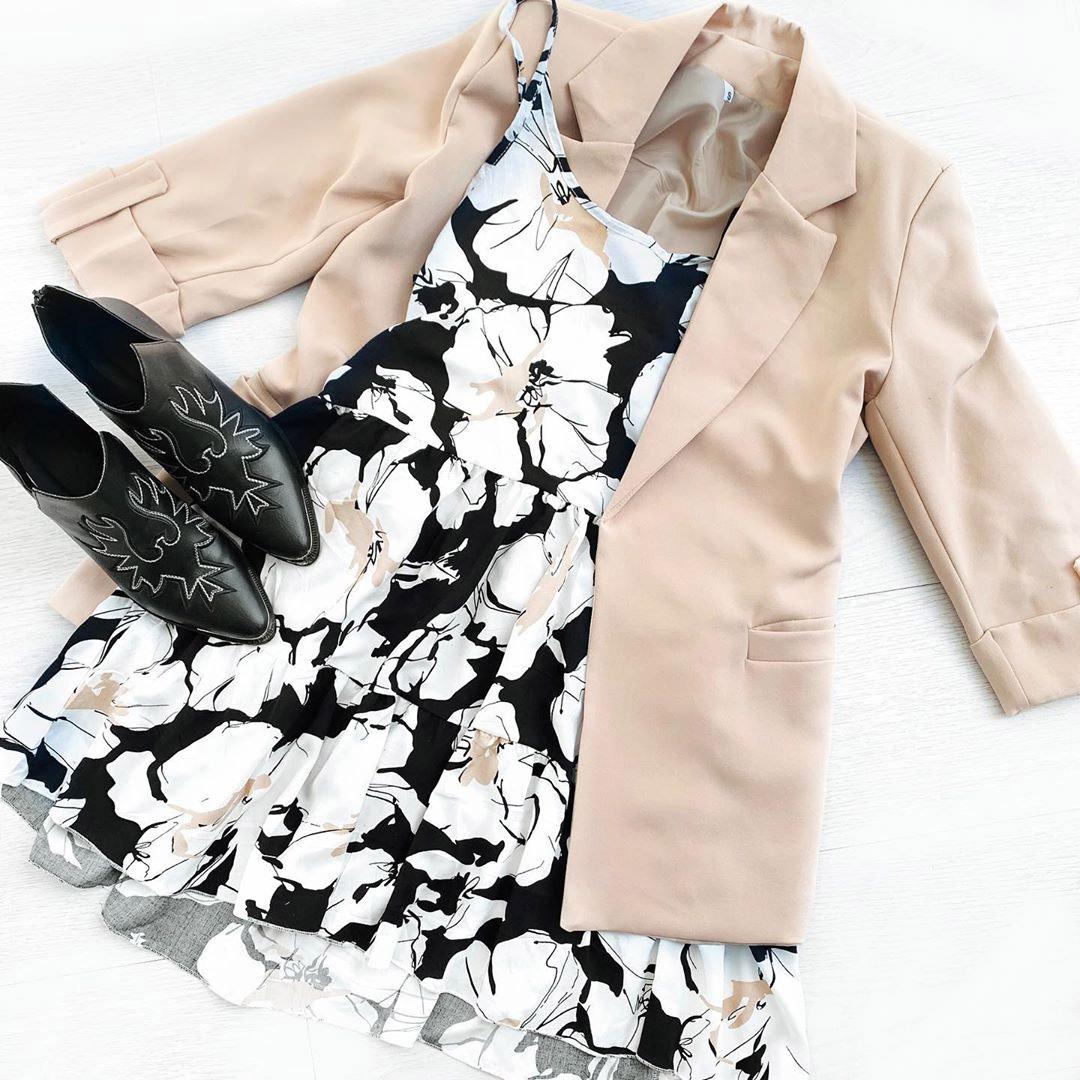 sacos y vestidos moda mujer 2021