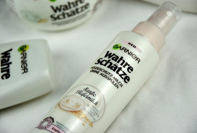 Erfahrungen Garnier Wahre Schätze Sanfte Hafermilch Hitzeschutz-Milch