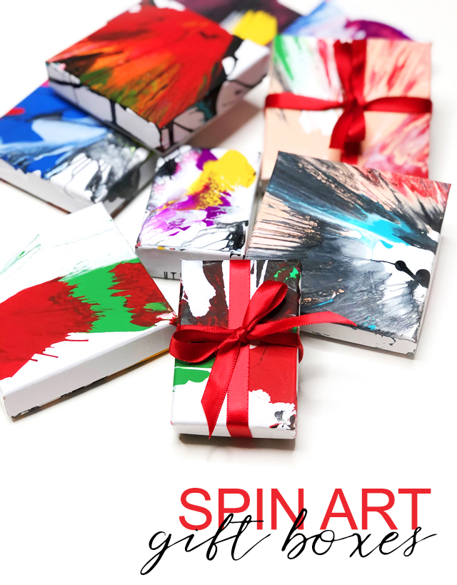 spin art gift boxes