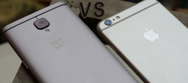 OnePlus 3 Vs iPhone 6s Camera Comparison