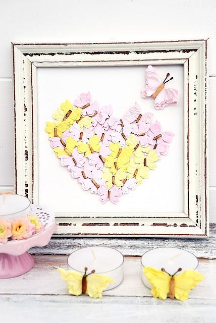 Herz-aus-Schmetterlingen-basteln