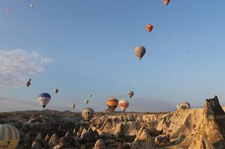 Naik Hot Air Balloon di Cappadocia Memuaskan