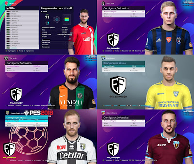 PES 2021 Facepack Serie B Vol 1