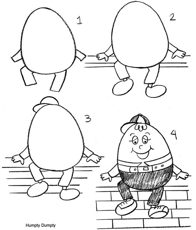 Inkspired musings nursery rhymes with humpty dumpty for Humpty dumpty puzzle template