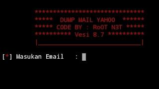 Cara Install Tool Cloning Yahoo di Aplikasi Termux