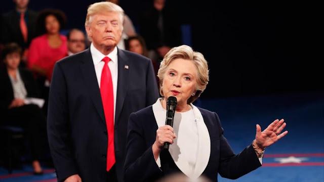 Clinton: Trump no cedería fácilmente su cargo si pierde ante Biden