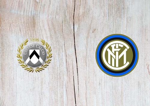 Udinese vs Internazionale -Highlights 23 January 2021