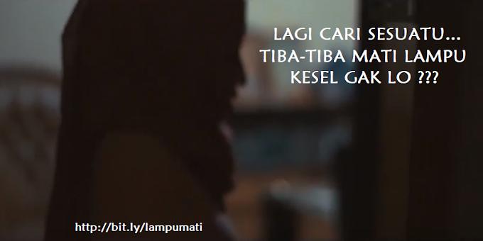Siang ini Mati Lampu Lagi Jakarta Tangerang Selatan