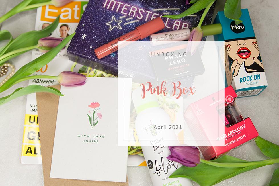 Pink Box - April 2021 - unboxing