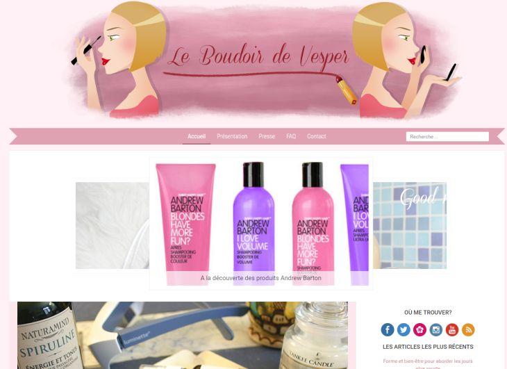 blog le boudoir de vesper