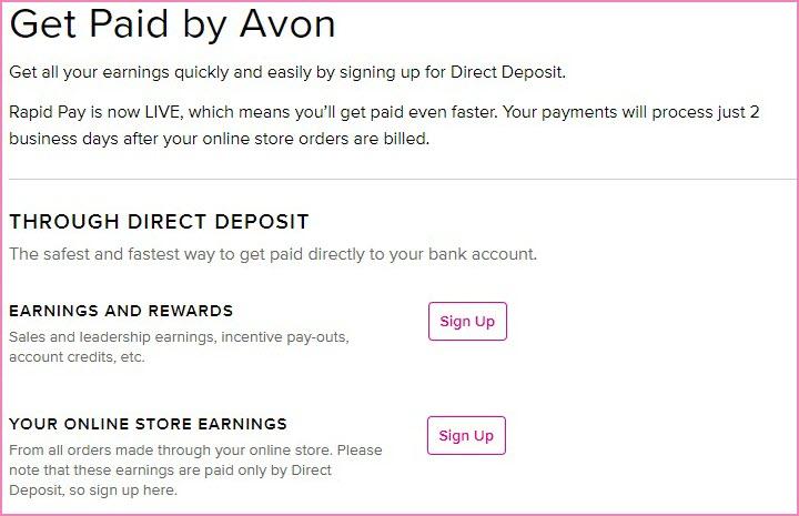 How Do I Get Paid By Avon - Team Optimism