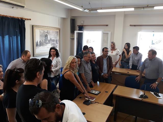 Πρέβεζα: Ορκίστηκαν οι μόνιμοι υπάλληλοι που προσελήφθησαν με την προκήρυξη 3Κ στην Πρέβεζα
