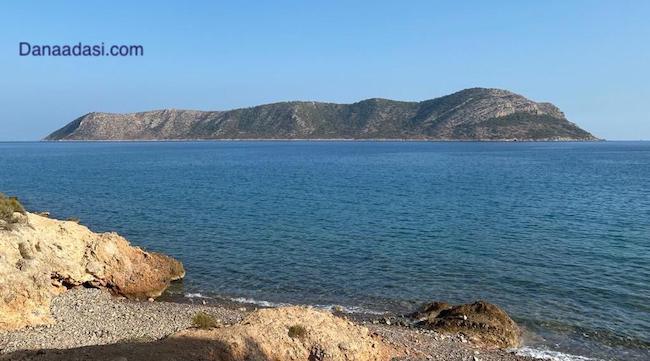 Dana Island ( Dana Adası, Pithyussa ) in Turkey