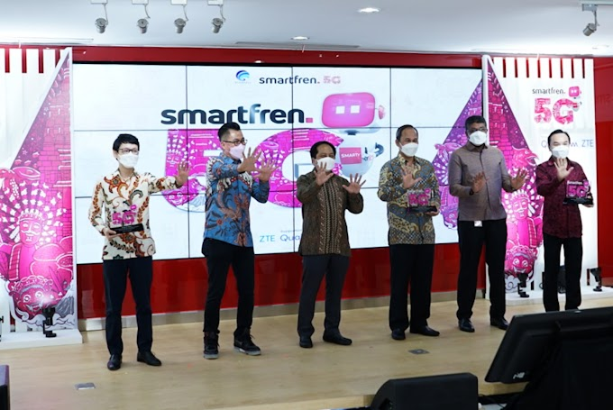 Smartfren Gelar Uji Coba Teknologi 5G Tahap Kedua