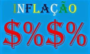 A imagem-mostra-caracteres -inflação-brasileira-crescente.