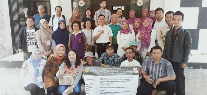 Kolaborasi dengan International Rice Research Institute (IRRI)