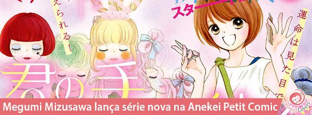 Megumi Mizusawa lança série nova na Anekei Petit Comic