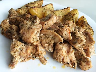 Pierś kurczaka z gyros