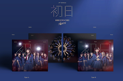 CD Cover and details on BNK48 3rd single 'Shonichi'